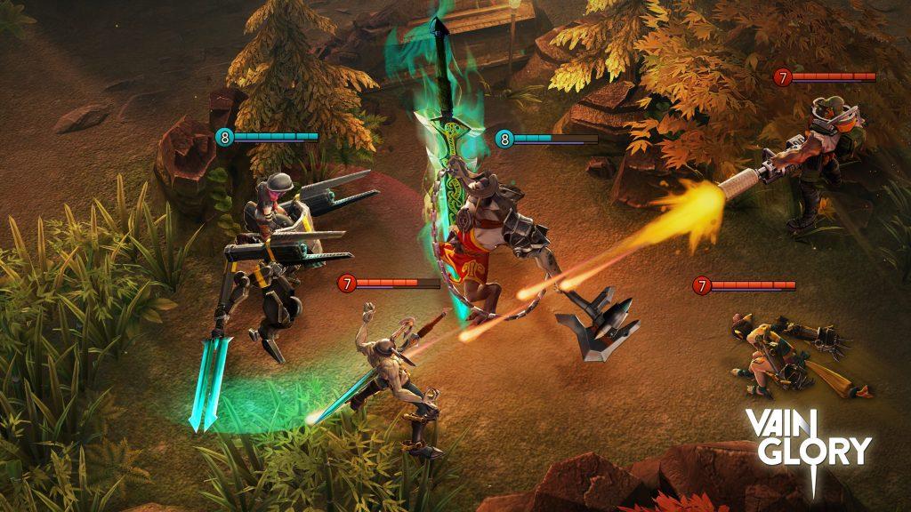 Жанры мобильных игр: какие бывают, какой самый популярный жанр мобильных игр, что такое MOBA Games VainGlory